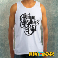 The Allman Brothers Band Logo Clothing Tank Top For Mens