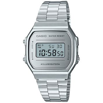 Vintage Collection Silver Digital Watch