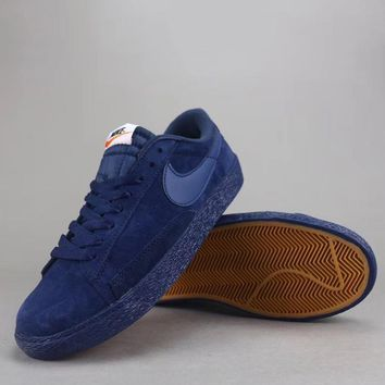 Nike Blazer Low Prm Vntg Women Men Fashion Low-Top Old Skool Shoes-5