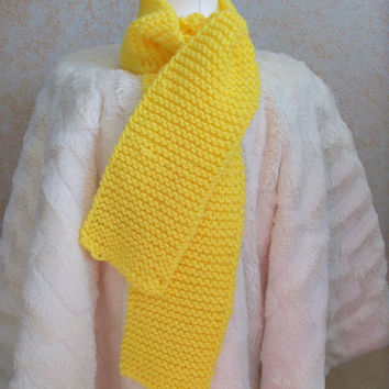 Winter Scarf-Yellow