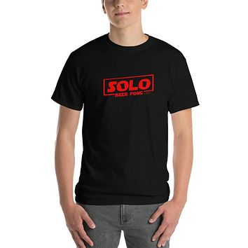 Solo A Beer Pong Story T-Shirt - Sith Red