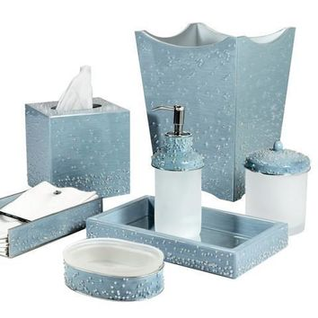 Mike & Ally Caviar Bath & Vanity Collection | Wintersky