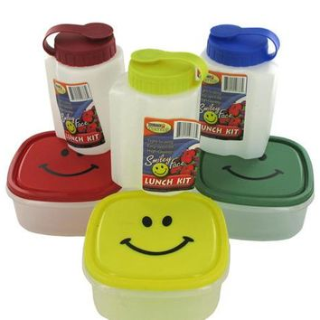 Smiley Face Lunch Kit ( Case of 96 )