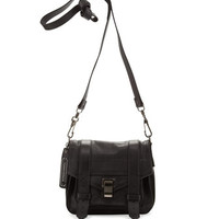 Proenza Schouler PS1 Pouch Crossbody Bag, Black