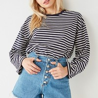 BDG Hazel High-Rise Button Fly Denim Short | Urban Outfitters