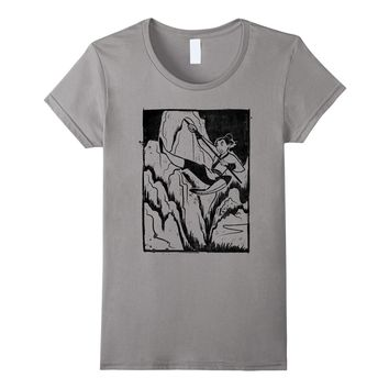 Disney Mulan Soldier Woodblock Ink Graphic T-Shirt
