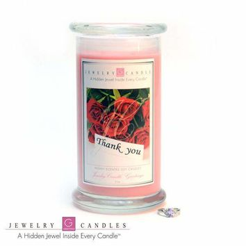 Thank You Jewelry Greeting Cards Candles
