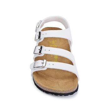 ab08f76663eba 2017 fashion Birkenstock Summer Fashion Leather Cork Flats Beach.  Birkenstock for kid This graceful cross strap sandal ...