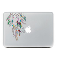 "Colorful Dreamcatcher MacBook Skin Decal Sticker for Apple Macbook Pro Air Mac 13"" inch Laptop 13 Inch N0012"