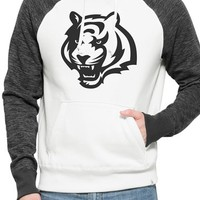 Men's 47 Brand 'Cincinnati Bengals - Hashmark' Graphic Fleece Hoodie,