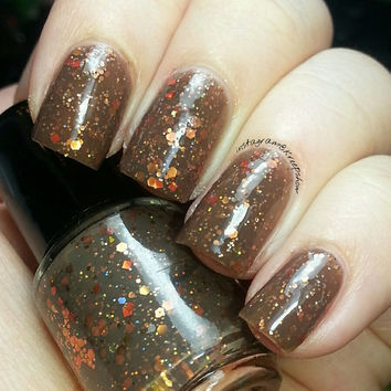 Nail Polish  -  Large bottle  -  Cabins and Campfires- lacquer - fall - autumn