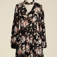 Im-Pressed Flowers Floral Dress | Mod Retro Vintage Dresses | ModCloth.com