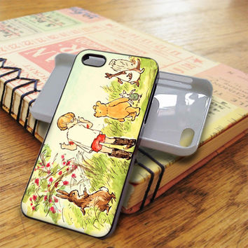 Winnie The Pooh Illustration iPhone 5C Case