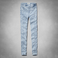 A&F Cara High Rise Jean Leggings
