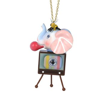N2 by Les Néréides CANDY MONSTER TV LONG NECKLACE
