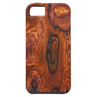 Cocobolo (wood) Finish iPhone 5 case from Zazzle.com