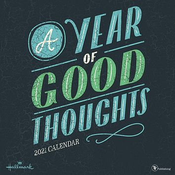 A Year of Good Thoughts Wall