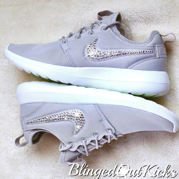 NEW Just Released Roshe Two Made with SWAROVSKI® Crystals - Pure Platinum/White