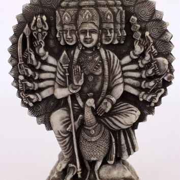 Katargama Figurine - marble from old Sri Lanka technology.