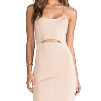 Stretta Kylee Dress in Peach