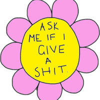 Ask Me Sticker