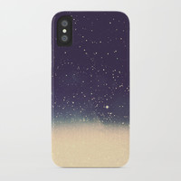 Star drops iPhone Case by Printapix