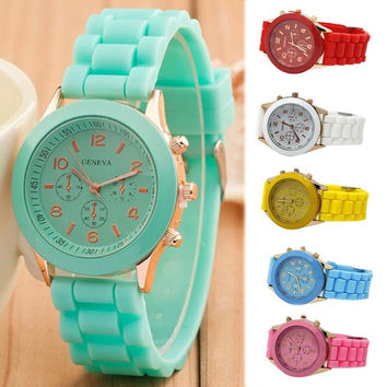 Fashion Silicone Watches Men & Women Casual Watches Ladies Quartz Unisex Jelly Watch = 1706180996