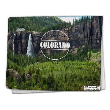 "Colorado Beauty - Cliffs 11""x18"" Dish Fingertip Towel All Over Print by TooLoud"
