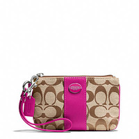 Coach.com has the best selection of Coach wristlets, shop today.