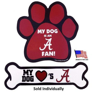 DCCKIV4 Alabama Crimson Tide Car Magnets