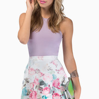 Bloomy Day Flare Skirt $25