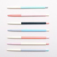 Colour Block Pens — Ball Point Pen — Black Ink