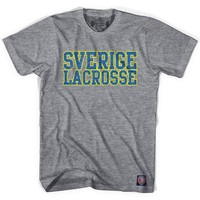 Sweden Lacrosse Nation T-shirt