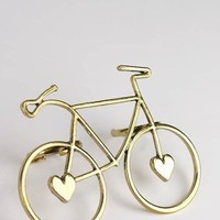 two finger bicycle ring $10.40 in SILVER - Rings | GoJane.com