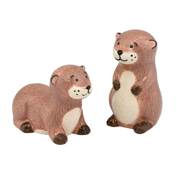 Otter Salt And Pepper Shakers | Tableware | CathKidston