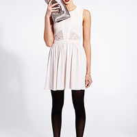 Must-Have Paneled Lace Dress