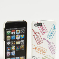 COACH 'Hangtag Multi' iPhone 5 Case | Nordstrom