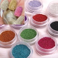 350buy Fashion Caviar Nails Art New 12 Colors plastic Beads Manicures or Pedicures Nail Art Hot Sales: Beauty