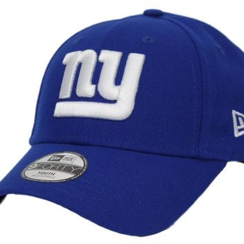 "New York Giants New Era Youth NFL 9Forty ""The League"" Adjustable Hat"