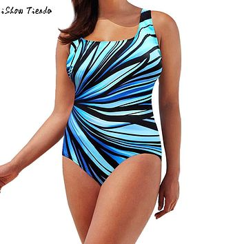 Women One Piece Swimsuit Plus Size