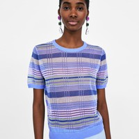 STRIPED SHEER TOPDETAILS