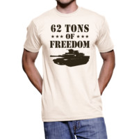 "Men's ""62 Tons of Freedom"" M1A1 Abrams Shirt"