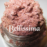 Bellissima Warm Coral Pinkish Beige Nude Natural Mineral Eyeshadow Mica Pigment 5 Grams Lumikki Cosmetics