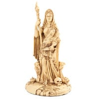 Hecate Greek Pagan Goddess of Moon and Childbirth Statue 11H