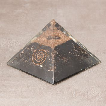 Orgone Black Tourmaline Pyramid