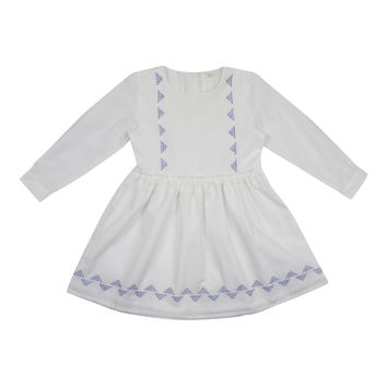 KETIKETA STELLA Blue and White Dress