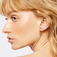 Free People Safety Pin Earring