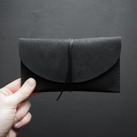 Black Verne Leather Wallet