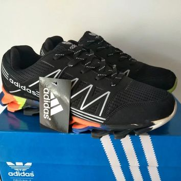 """""""Adidas"""" Men Fashion Sport Casual Multicolor Blade Bottom Sneakers Running Shoes"""