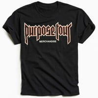 Justin Bieber Purpose Tour Tee - Urban Outfitters